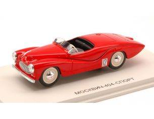 Dip Models DIP140401 MOSKVICH 404 SPORT 1950 RED 1:43 Modellino