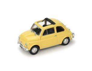 Brumm BM0464-05 FIAT 500 L 1968-72 APERTA GIALLO THAITI 1:43 Modellino