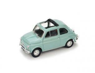 Brumm BM0464-10 FIAT 500 L 1968-72 APERTA GRIGIO GARDA 1:43 Modellino