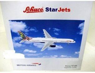 Schuco 3557225 BOEING 757-200 BR.AIRWAYS BOTSWANA Modellino