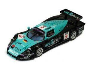 Ixo model GTM040 MASERATI MC12 n.9 WINNER SPA '05 1/43 Modellino