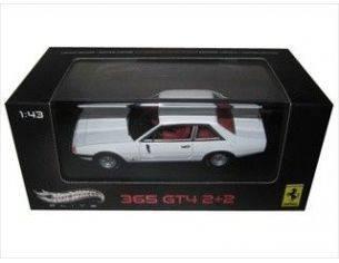 Mattel W1192 FERRARI 365 GT4 2+2 WHITE 1/43 Modellino