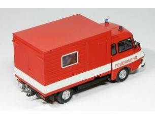 Schuco 3655 BARKAS B1000 POMPIERI 1/43 Modellino