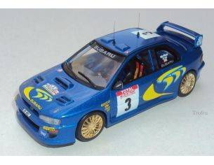 Trofeu 1130 SUBARU IMPREZA WRC99 1ST TDC 98 1/43 Modellino