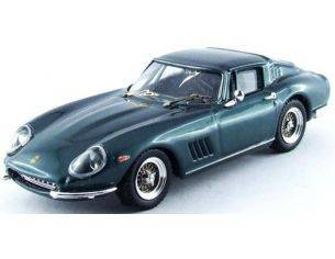 Best Model BT9516 FERRARI 275 GTB/4 PERSONAL CAR CLINT EASTWOOD METALLIC GREEN 1:43 Modellino