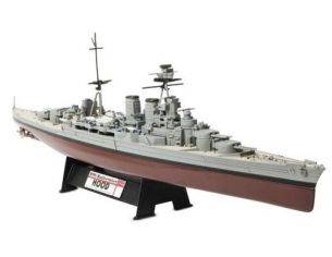 Unimax 86009 NAVE HMS BATTLECRUISER HOOD 1/700 Modellino
