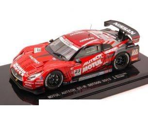 Ebbro EB44731 NISSAN R35 GT-R N.23 SUPER GT500 2012 MOTOYAMA-KRUMM 1:43 Modellino