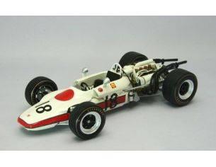 Ebbro EB22007 HONDA RA302 J.SCHLESSER 1968 N.18 RETIRED (ACCIDENT) FRANCE GP 1:20 Formula 1