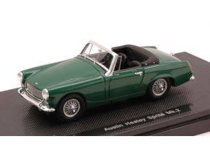 Ebbro EB44450 AUSTIN HEALEY SPRITE MK2 1961 GREEN 1:43 Modellino