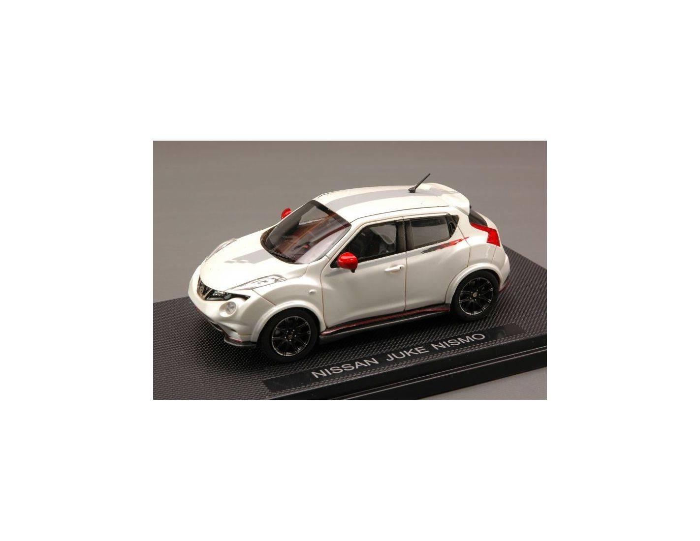 Auto 1 43 ebbro eb44904 nissan juke nismo 2011 pearl 1 43 for Nissan offerte speciali