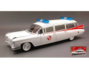 Hot Wheels HWBCJ75 ECTO-1 GHOSTBUSTERS 1:18 Modellino