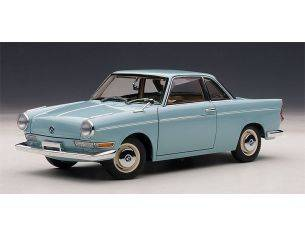 Auto Art / Gateway AA70653 BMW 700 SPORT COUPE' 1961 LIGHT BLUE 1:18 Modellino