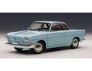 Auto Art / Gateway AA70653 BMW 700 SPORT COUPE' 1961 LIGHT BLUE 1:18 Modellino