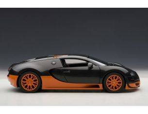 Auto Art / Gateway AA70936 BUGATTI VEYRON SUPER SPORT 2010 ORANGE/BLACK 1:18 Modellino