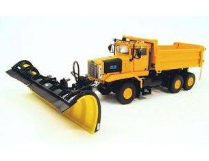 TWH Movimento Terra 040-03005 OSHKOSH P SERIES SNOW PLOW 1/50 4X4 Modellino