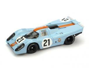 Brumm BM0494 PORSCHE 917K N.21 RETIRED LE MANS 1970 RODRIGUEZ-KINNUNEN 1:43 Modellino