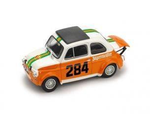 Brumm BM0496 FIAT 695 SS ABARTH N.284 COLLE DELLA MADDALENA 1973 R.MENAPACE 1:43 Modellino