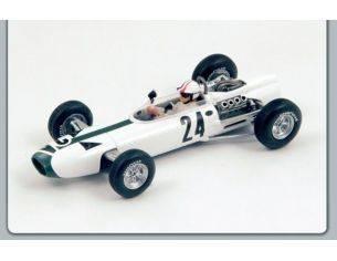Spark Model S1159 BRM P261 B.BONDURANT 1966 N.24 BELGIUM GP 1:43 Modellino