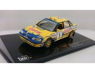 Ixo model RAC229 SUBARU LEGACY RS N.5 RETIRED NEW ZELAND 1992 BOURNE-FREETH 1:43 Modellino