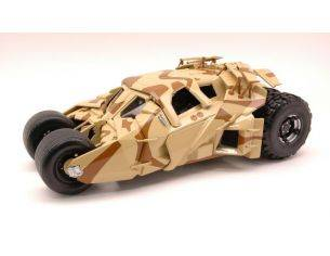 Hot Wheels HWBCJ76 BATMOBILE THE DARK KNIGHT RISES CAMOUFLAGE TUMBLER 1:18 Modellino