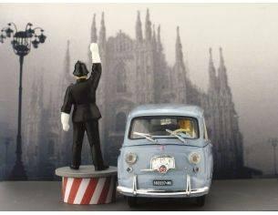 Brumm BMAS52M FIAT 600 MULTIPLA 1960 GHISA DE MILAN 1:43 Modellino