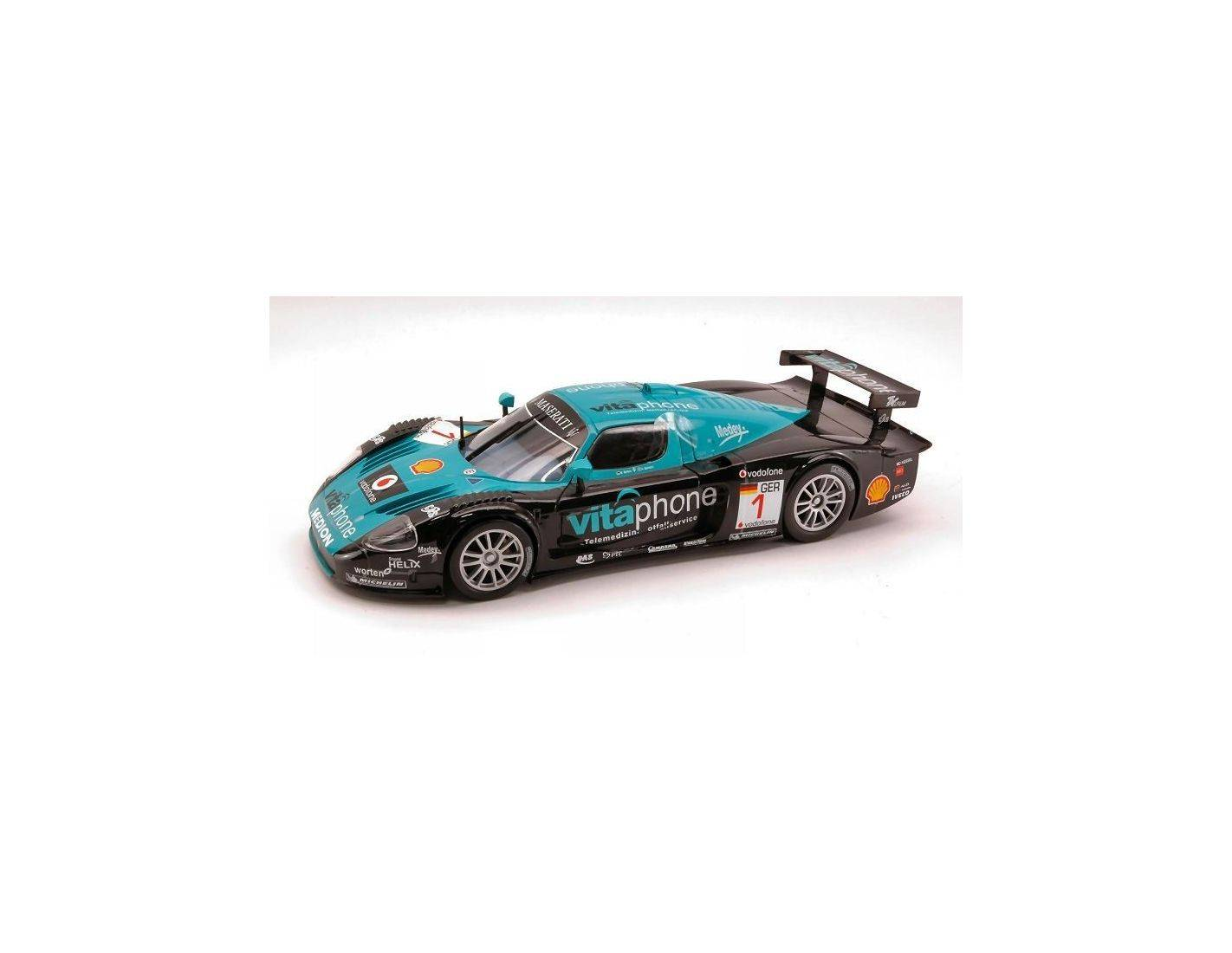 bburago bu28004 maserati mc12 n 1 world champion fia gt1 2010 bartels bertolini 1 24 modellino. Black Bedroom Furniture Sets. Home Design Ideas