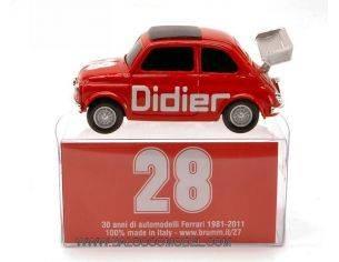 Brumm BMBR012 FIAT 500 DIDIER N.28 1:43 Modellino