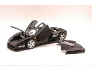 Hot Wheels HWX5488 FERRARI ENZO TEST MONZA 2003 MATT BLACK 1:18 Modellino