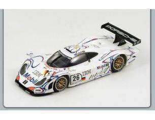 Spark Model S18LM98 PORSCHE 911 GT1 N.26 WINNER LM 1998 AIELLO-MC NISH-ORTELLI 1:18 Modellino