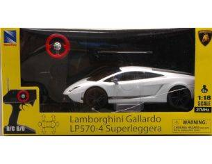 New Ray 88643 LAMBORGHINI GALLARDO SUPERLEGGERA RADIOCOMANDO 1:18 Modellino