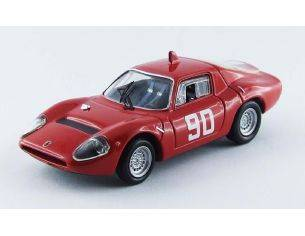 Best Model BT9521 ABARTH OT 1300 N.90 11th CIRC.MUGELLO 1967 NESTI-HEZEMANS-FURTMAYR 1:43 Modellino