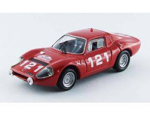 Best Model BT9522 ABARTH OT 1300 N.121 RETIRED TOUR DE CORSE 1965 SCHELESSER-B.LENA 1:43 Modellino