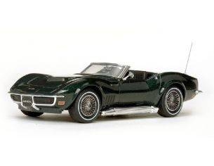 Vitesse VE36237 CHEVROLET CORVETTE C3 CONVERTIBLE 1968 BRITISH GREEN 1:43 Modellino