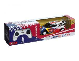 Mondo Motors MM63114 CITROEN DS3 WRC RED BULL RADIOCOMANDO 1:24 Modellino