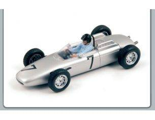 Spark Model S3462 PORSCHE 804 D.GURNEY 1962 N.7 3rd GERMAN GP 1:43 Modellino