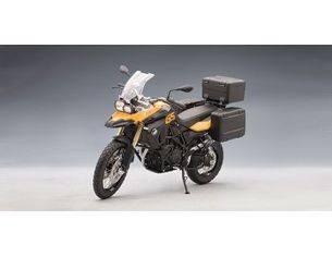 Auto Art / Gateway AA10007 BMW F 800 GS YELLOW/BLACK 1:10 Modellino