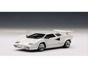Auto Art / Gateway AA54533 LAMBORGHINI COUNTACH 5000S 1982 WHITE 1:43 Modellino