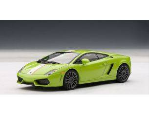 Auto Art / Gateway AA54634 LAMBORGHINI GALLARDO LP550-2 BALBONI 2009 LIGHT GREEN MET.1:43 Modellino