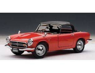 Auto Art / Gateway AA73276 HONDA S800 1967 RED 1:18 Modellino