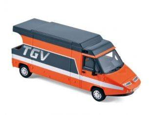 Norev NVPM0099 CAMION TGV 1983 ORANGE/GRIS 1:43 Modellino