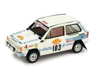 Brumm BMK004 FIAT PANDA GR.A N.103 RALLY SANREMO 1982 C.GALLIANO-G.BIONDI 1:43 Modellino