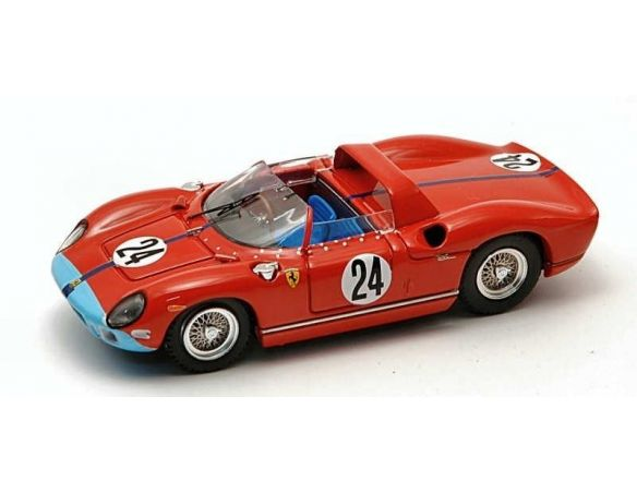 Art Model AM0185 FERRARI 330 P N.24 DNF SEBRING 1964 HILL-BONNIER 1:43 Modellino