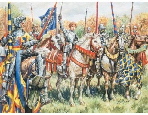Italeri IT6026 100 YEARS WAR FRENCH WARRIORS 1:72 Modellino