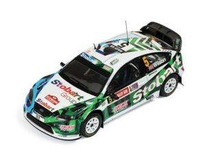 Ixo model RAM404 FORD FOCUS RS WRC 08 N.5 MARTIN/WILSON WALES GB RALLY 2009 1:43 Modellino