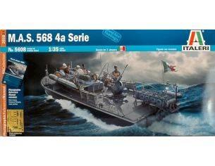 Italeri IT5608 M.A.S.568 4^ SERIE KIT 1:35 Modellino
