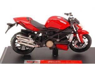 Maisto MI39300S DUCATI STREETFIGHTER S 2010 RED/BLACK 1:18 Modellino