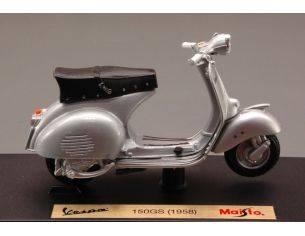Maisto MI4273 VESPA 150 GS 1958 SILVER 1:18 Modellino