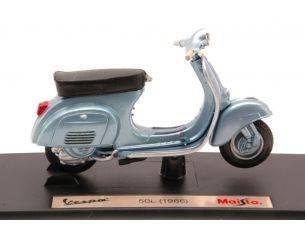 Maisto MI4333 VESPA 50L 1966 LIGHT BLUE METALLIC 1:18 Modellino