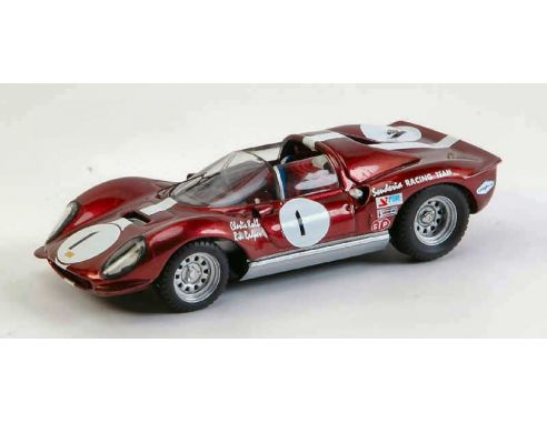 Art Model AM0190 FERRARI DINO 206 S N.1 BRIDGEHAMPTON 1966 C.KOLB 1:43 Modellino
