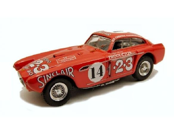 Art Model AM0191 FERRARI 340 MEXICO N.14 RET.CARRERA MESSICANA 1952 ASCARI-SCOTUZZI 1:43 Modellino